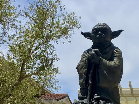 [Photo : Maitre Yoda à San Francisco]