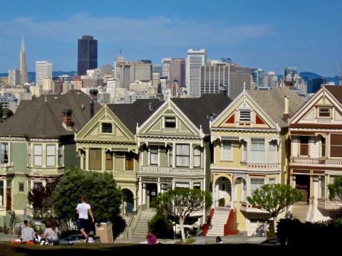 Photo : Painted Ladies San Francisco